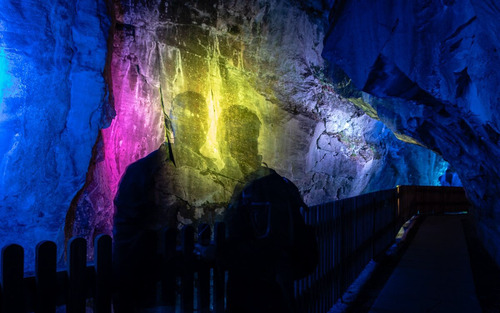 景區溶洞燈光投影秀設計 Design of cave light projection show
