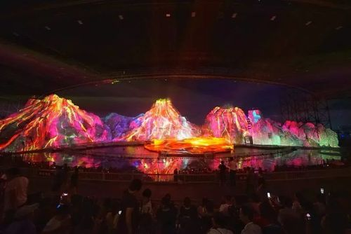 大型实景光影秀 Large live light show
