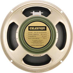 百變龍 celestion G12M Greenback  喇叭