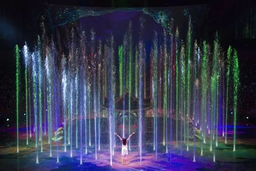 水秀舞台设计 Stage design of water show